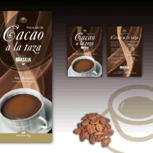 Cacao a la tassa Brasilia