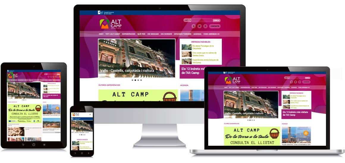 estructura altcamp turisme