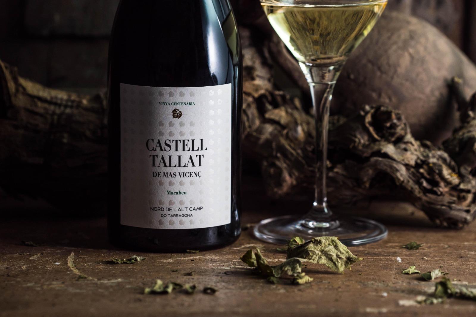 Castell Tallat, el nou vi de Mas Vicenç amb una etiqueta plena de detalls